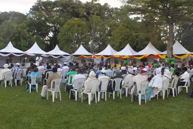 L'ouverture de la Foire en Afrique de l'Est 2013